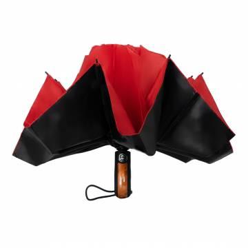Inverted Fold Umbrella - Red